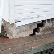 Foundation and Siding Fail