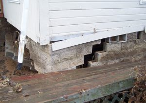 Foundation and siding fail!