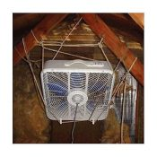 That top-of-the-line suspension system and high-tech fan make this the best attic ventilation system $5 can buy